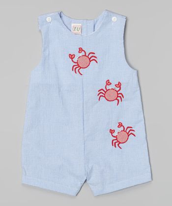 Blue Crab John Johns - Infant