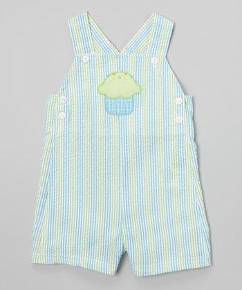 Turquoise Cupcake John Johns - Infant