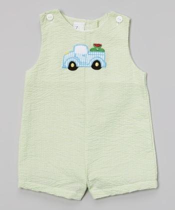 Green Truck John Johns - Infant & Toddler