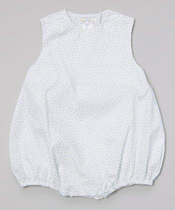Blue Floral Bubble Bodysuit - Infant
