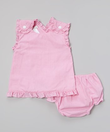 Pink Ruffle Top & Bloomers - Infant