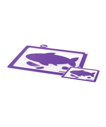 Purple Fish Cutting Board - Set of Two