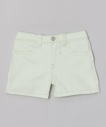 Mint Twill Shorts