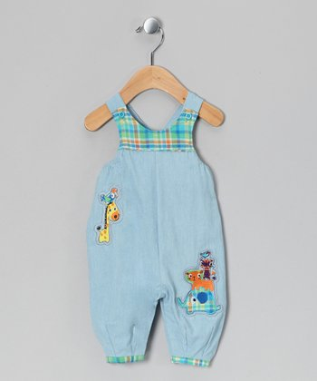Blue Atoll Kitte Overalls - Infant