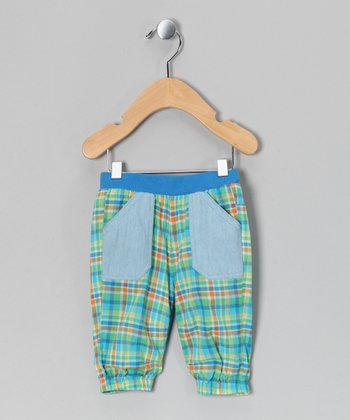 Poison Green Kimi Pants - Infant