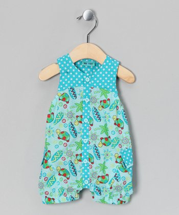 Clearwater Liba Seersucker Romper - Infant