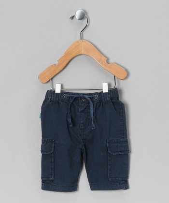 Dress Blues Sennik Cargo Shorts - Infant & Toddler