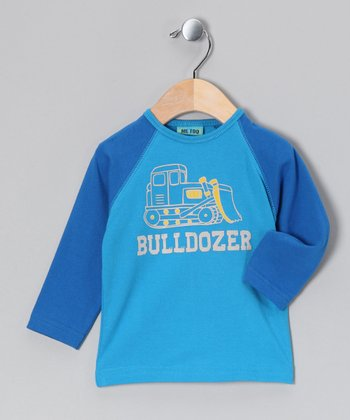 Swedish Blue Hodan Raglan Tee - Infant & Toddler
