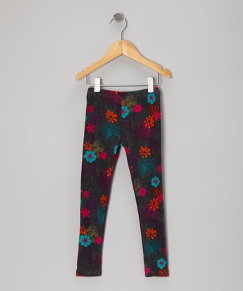 Midnight Adea Bam Leggings - Toddler & Girls