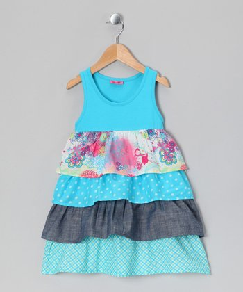 Blue Atoll Kajsa Bam Dress - Toddler & Girls