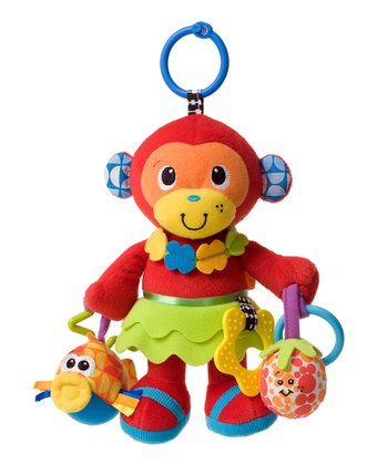 Mia the Monkey Activity Pal Plush Toy