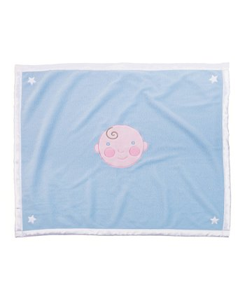 Blue Baby Boy Blanket