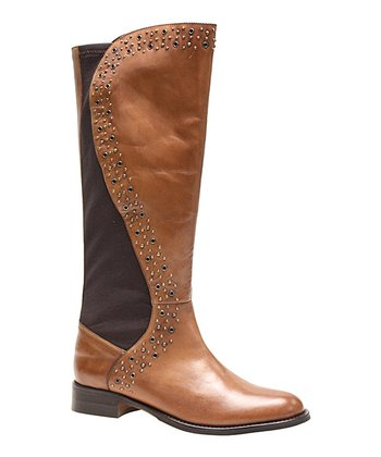 Tan Shafer Leather Boot