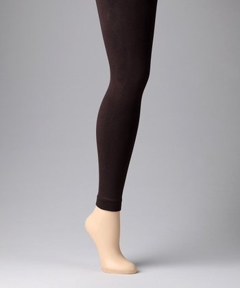 Chocolate Fleece-Lined Leggings