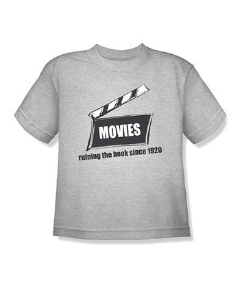 Heather Gray 'Movies' Tee - Toddler & Kids