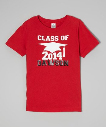 Red 'Class of 2014' Personalized Tee - Toddler & Boys