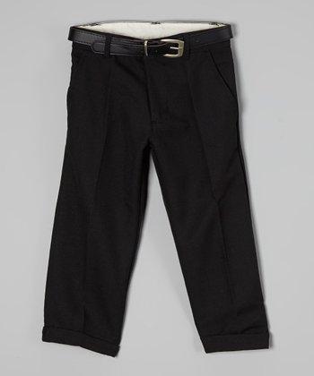 U.S. Polo Assn. Black Pants - Boys