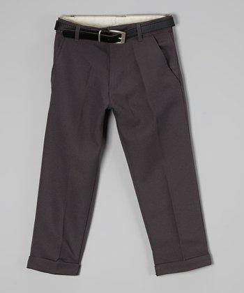 U.S. Polo Assn. Charcoal Pants - Boys
