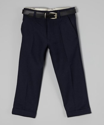 U.S. Polo Assn. Navy Pants - Boys