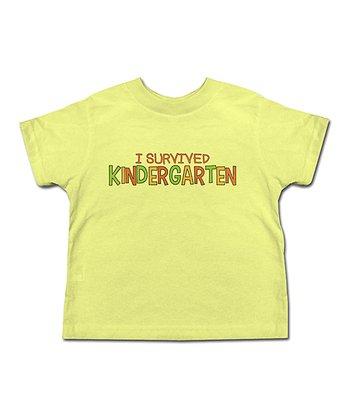 Banana 'I Survived Kindergarten' Tee - Toddler & Kids