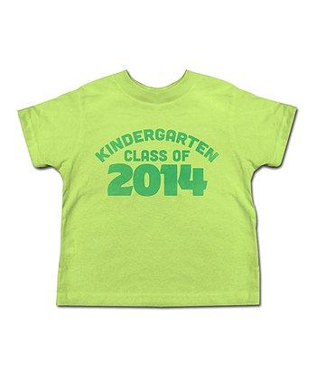 Key Lime 'Kindergarten Class of 2014' Tee - Toddler & Kids