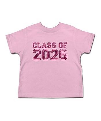 Pink 'Class of 2026' Tee - Toddler & Girls