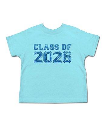 Aqua 'Class of 2026' Tee - Toddler & Boys