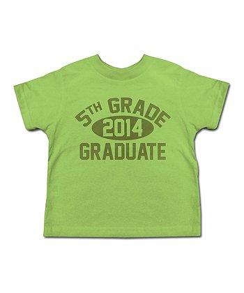 Grass '5th Grade Graduate' Tee - Toddler & Kids