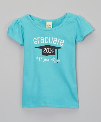 Caribbean Graduation Personalized Tee - Infant, Toddler & Girls
