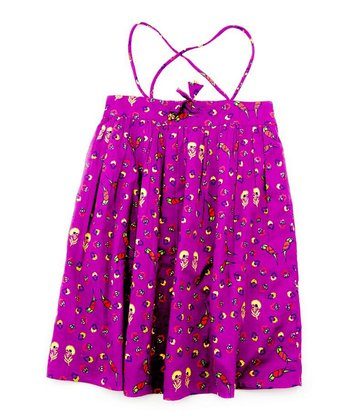 Child of the World Purple Jolie Dress & Bloomers - Infant, Toddler & Girls