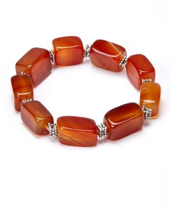 Chalcedony Stretch Bracelet