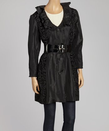 Black Swirl Jacket - Women & Plus
