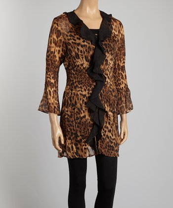 Leopard Duster - Women & Plus