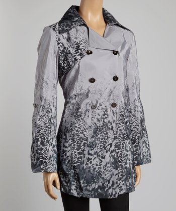 Charcoal Animal Jacket - Women & Plus