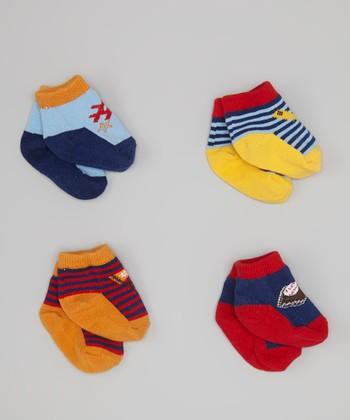 Baby Essentials Baseball Sock Set