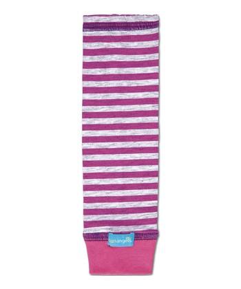 Pink Summer Stripe UPF 50+ Arm Sleeves