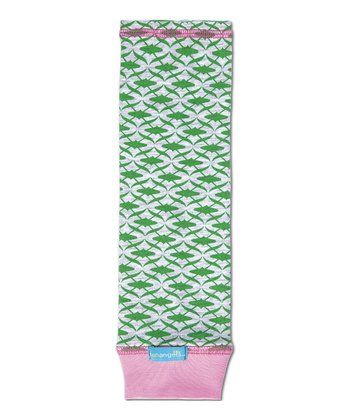 Green The Mod UPF 50+ Arm Sleeves