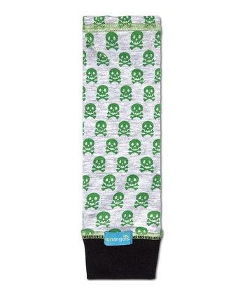 Green Bad to the Bone UPF 50+ Arm Sleeves