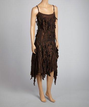 Saga Coco Crinkle Sleeveless Dress