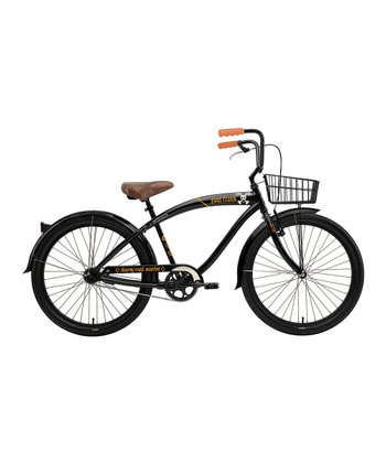 Black Paul Frank Road Warrior Men's Single-Speed Bike