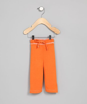Pumpkin Organic Pants - Infant
