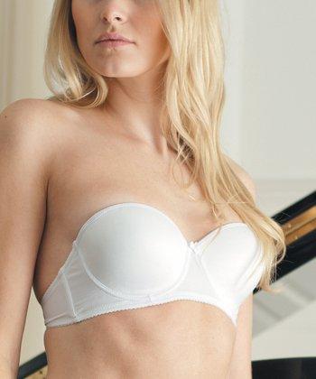 White Convertible Bra - Women & Plus