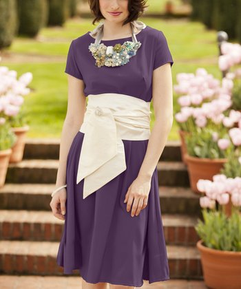 Purple Truly Madly Deeply Dress