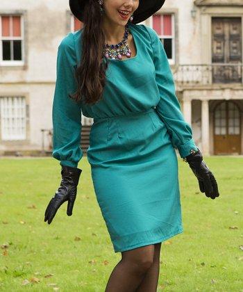 Green Castlehill Dress