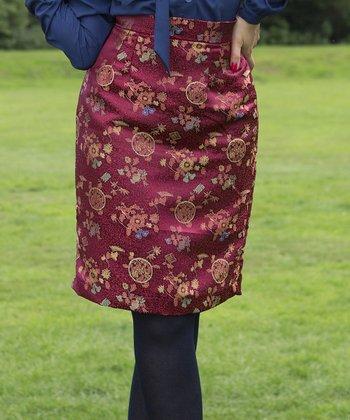 Maroon Balvenie Skirt