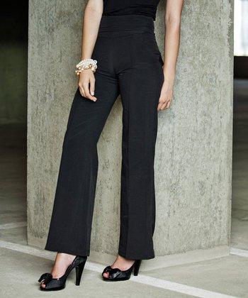 Black Walk This Way Trouser Pants
