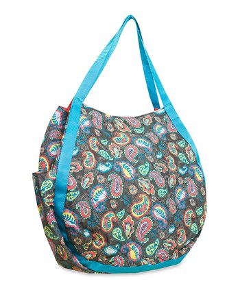 Gray Paisley Hobo