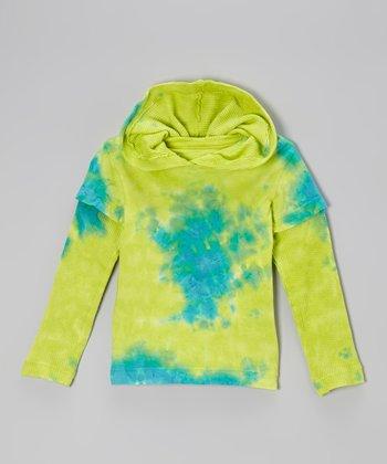 Teal Cosmic Hoodie - Toddler