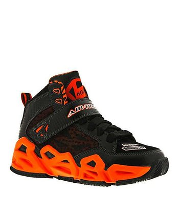 Black & Orange Hoopz Sneaker