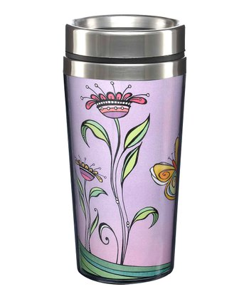 'Let Happiness Blossom' Tumbler